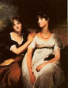 The Daughters of Colonel Thomas Carteret Hardy Sir Thomas Lawrence