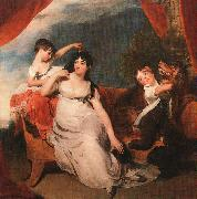 Mrs Henry Baring and her Children Sir Thomas Lawrence