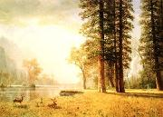 Hetch Hetchy Valley Albert Bierstadt