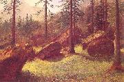 Wooded Landscape Albert Bierstadt
