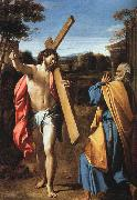 Christ Appearing to Saint Peter on the Appian Way Annibale Carracci