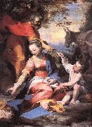 Rest on the Flight to Egypt sw Barocci, Federico