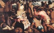Adoration of the Shepherds ss BASSANO, Jacopo