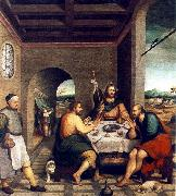 Supper at Emmaus sf BASSANO, Jacopo