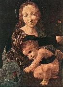 Virgin and Child with a Flower Vase (detail) BOLTRAFFIO, Giovanni Antonio