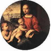 Virgin and Child with the Infant St John the Baptist BUGIARDINI, Giuliano