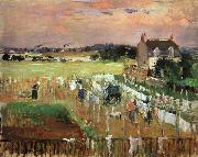Hanging Out the Laundry to Dry Berthe Morisot