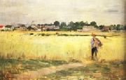 In the Wheatfields at Gennevilliers Berthe Morisot