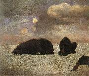 Grizzly Bears Bierstadt