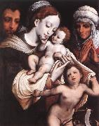 Holy Family dfgh CLEVE, Cornelis van