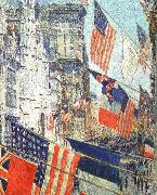 Allies Day in May 1917 Childe Hassam