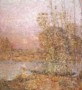 Late Afternoon Sunset Childe Hassam