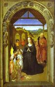 The Adoration of Angels Dieric Bouts