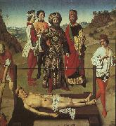 The Martyrdom of St.Erasmus Dieric Bouts