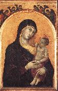 Madonna and Child with Six Angels dfg Duccio