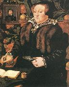 Portrait of Lady Dacre fg EWORTH, Hans