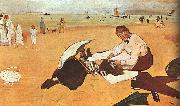 At the Beach_z Edgar Degas