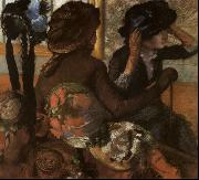 At the Milliner's Edgar Degas