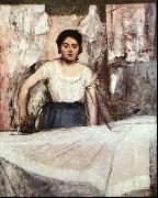 A Woman Ironing Edgar Degas