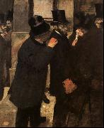 At the Stock Exchange Edgar Degas