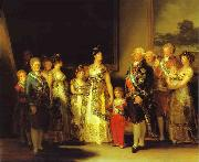 Charles IV and His Family Francisco Jose de Goya