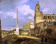The Church of Trinita dei Monti in Rome Francois-Marius Granet