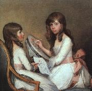 Miss Dick and her cousin Miss Forster Gilbert Charles Stuart