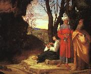The Three Philosophers dh Giorgione