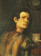Portrait of a Young Man dh Giorgione