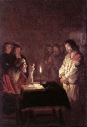 Christ before the High Priest sg HONTHORST, Gerrit van