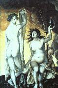 Sacred and Profane Love Hans Baldung Grien