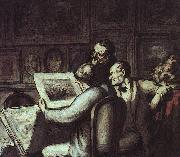 The Print Collectors Honore  Daumier