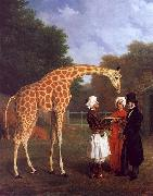 The Nubian Giraffe Jacques-Laurent Agasse