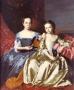 Mary MacIntosh Royall and Elizabeth Royall John Singleton Copley