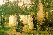 The Communicants Jules Breton