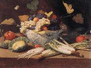 Still-life with Vegetables s KESSEL, Jan van