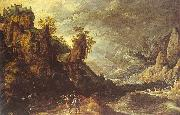 Landscape with Tobias and the Angel Kerstiaen de Keuninck