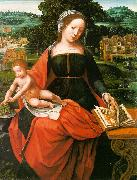 Madonna and Child s MASTER of Female Half-length