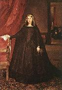 The Empress Dona Margarita de Austria in Mourning Dress h MAZO, Juan Bautista Martinez del
