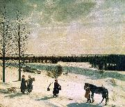 Russian Winter Nikifor Krylov