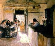Osteria Ravello Italy Peter Severin Kroyer
