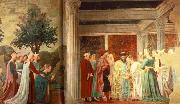 Adoration of the Holy Wood and the Meeting of Solomon and Queen of Sheba Piero della Francesca