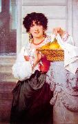 Pisan Girl with Basket of Oranges and Lemons Pierre-Auguste Cot