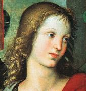 Detail from the Saint Nicholas Altarpiece Raphael