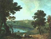 Lake Albano and Castel Gandolfo Richard  Wilson