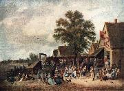 The Village Feast gh TENIERS, David the Younger