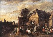 Flemish Kermess fh TENIERS, David the Younger