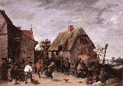 Flemish Kermess kh TENIERS, David the Younger