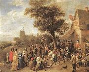 Peasants Merry-making wt TENIERS, David the Younger
