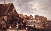 Village Feast dtg TENIERS, David the Younger